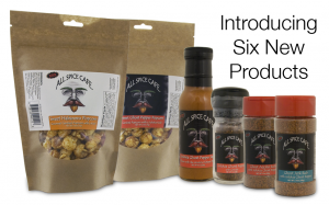 NewProdsB 300x187 Hot new releases from All Spice Cafe!