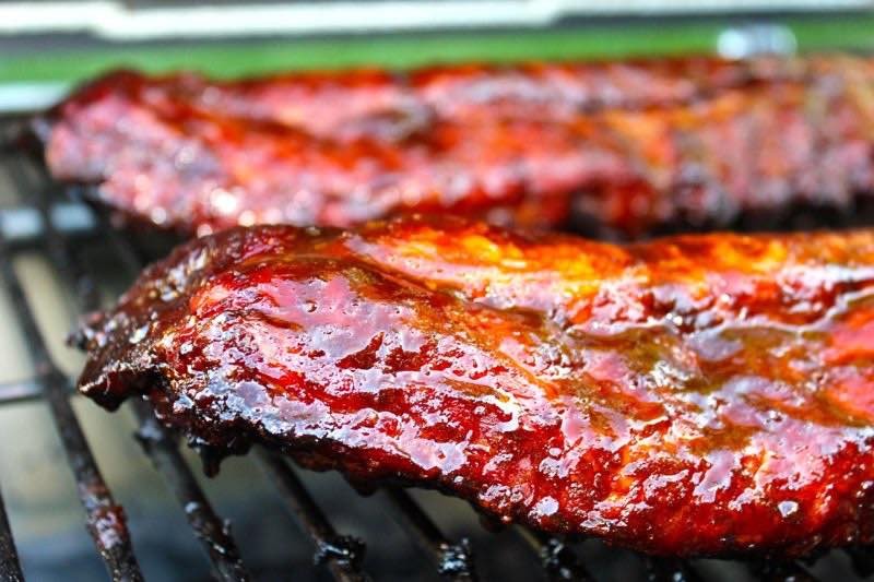 """Asian Inspired Baby Back Ribs on """"The Beast"""" Smoker/Grill"""