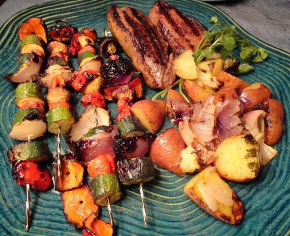 how to cook vegetables on the grill