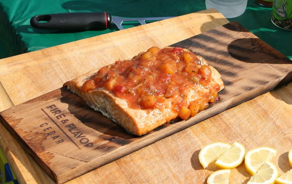 cookingoutdoors4 Step Up Your Grilling Game with a Cedar Plank