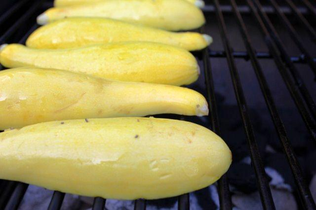 IMG 2000 640x480 Stuffed Yellow Squash on the Grill