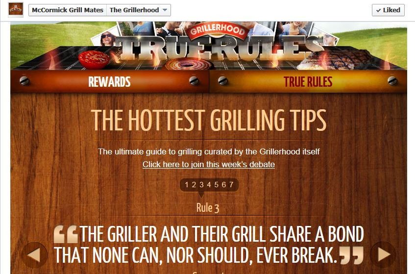 Grillerhood grill tips McCormick Grill Mates Grillerhood Summer of Grilling!