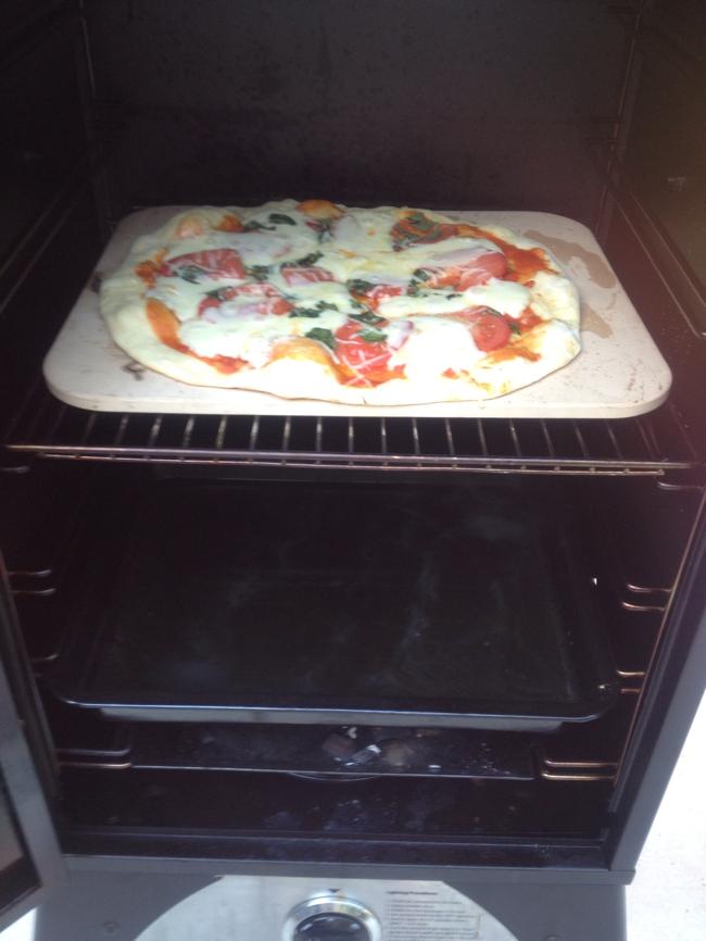 Pizza on the Camp Chef Smoke Vault