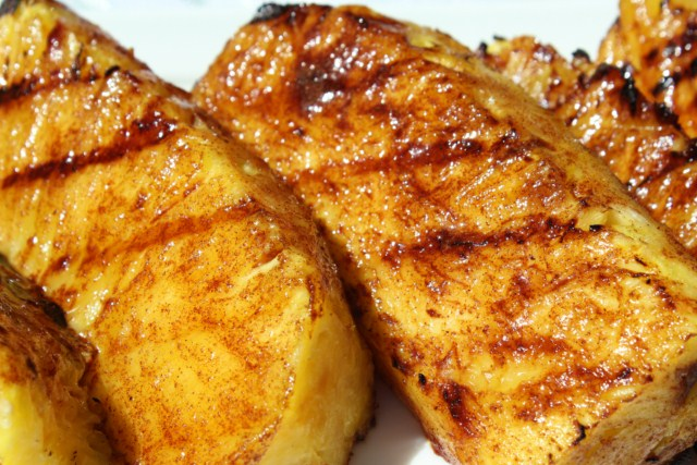 How to Grill Pineapples  - grilling steps and tips