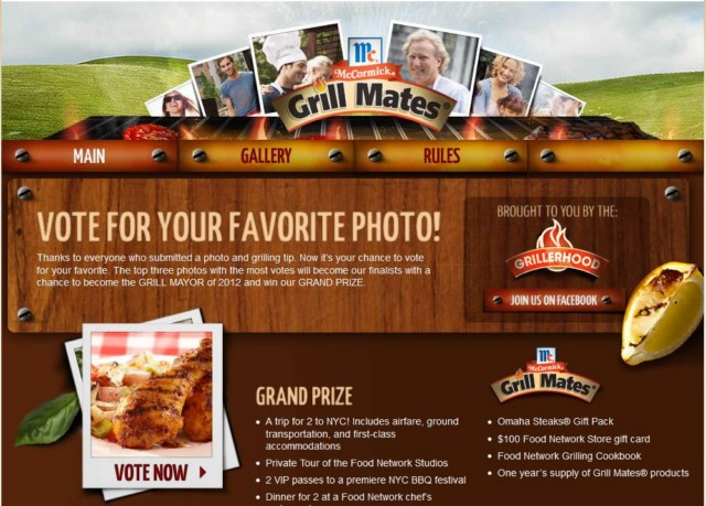 Vote 640x480 Vote for your favorite Grill Mayor 2012 photo!