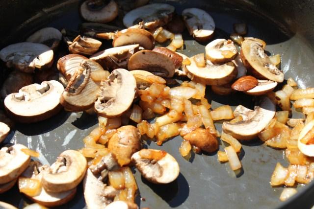 Pork Tenderloin Medallions with Brandy Sage Mushroom Sauce