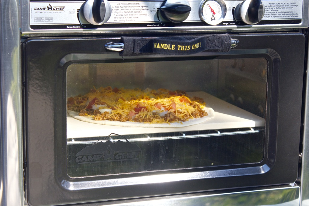 Camp Chef Pizza Stone for the Outdoor Camp Oven