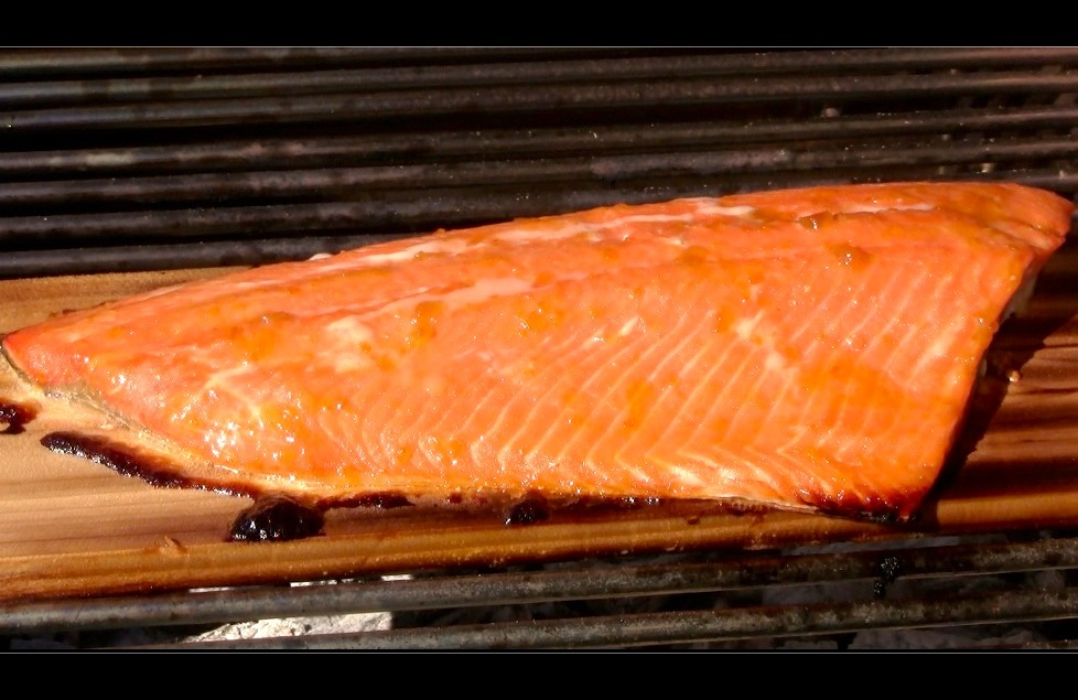capture 17 Apricot Orange Glazed Cedar Plank Salmon Recipe