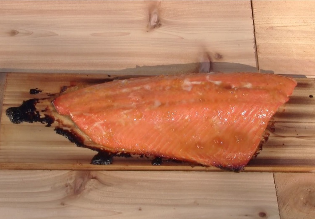capture 19 1 Apricot Orange Glazed Cedar Plank Salmon Recipe