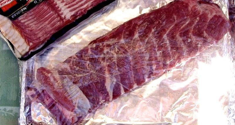 BBQ Bacon Wrapped Ribs01 BBQ Bacon Wrapped Ribs