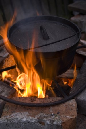 CampfireCooking How to Remove Soot from Camping Cookware