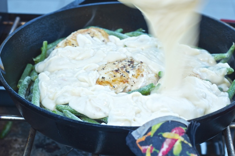 Skillet Chicken Casserole Recipe