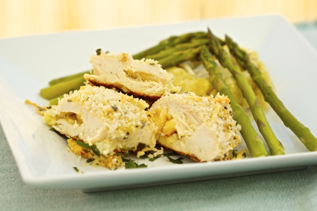 Dubliner Cheese-Stuffed Chicken Breast