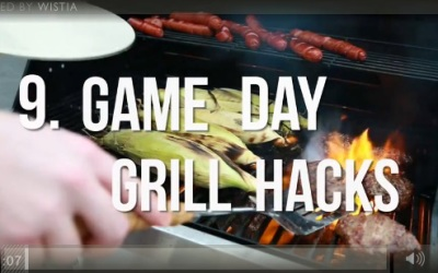 9 Game Day Grilling Hacks
