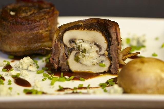 Steak and Mushroom Scallops | Cooking-Outdoors.com | Gary House