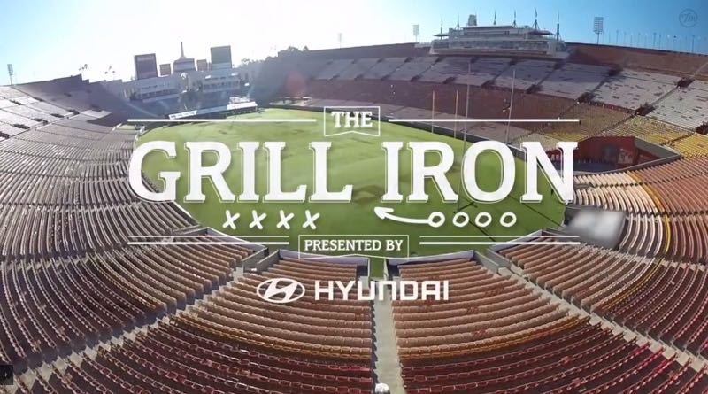 Tastemade Hyundai Grill Iron Tailgating Show