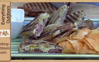 How to Make a Panini Sandwich on the Grill