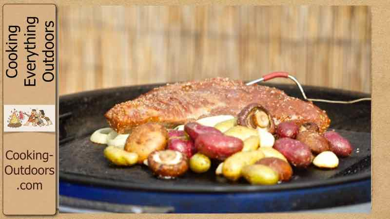 Tropical Grilled Tri-Tip Recipe on the Island Grillstone