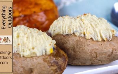 Twice Baked Chicken Pot Pie Potato Recipe