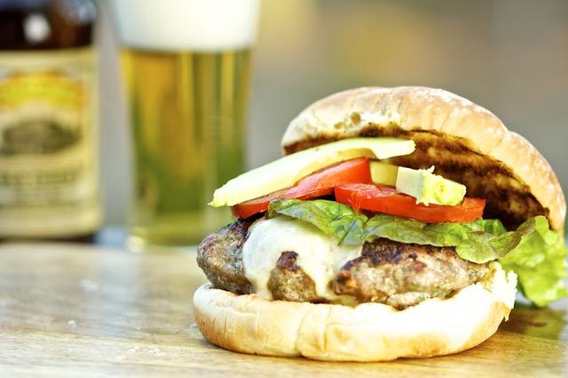 Crimini Mushroom Turkey Burgers Recipe