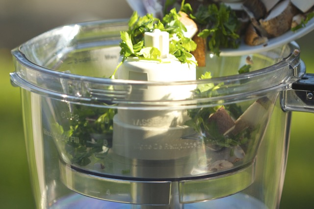 how to use food processor grater
