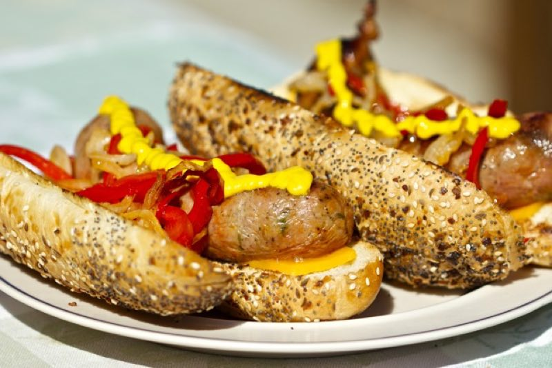 Grilled Homemade Sausage Sandwiches