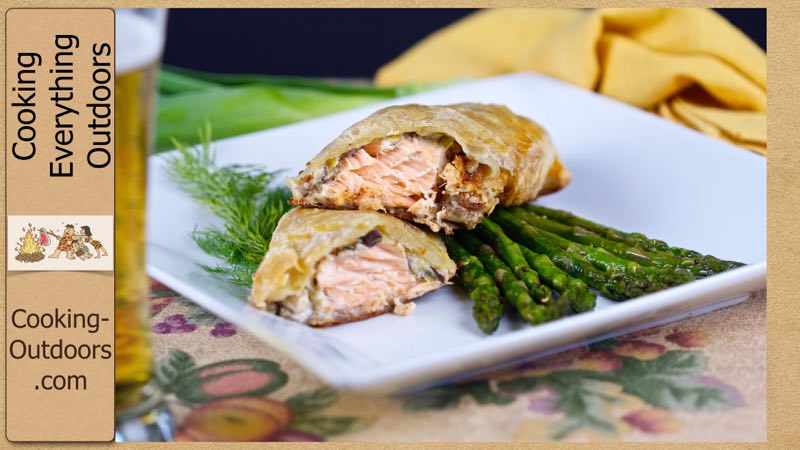 Baked Salmon en Croute Recipe