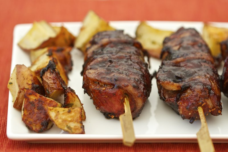 Bacon Wrapped Country Style Ribs Recipe | Cooking-Outdoors.com | Gary House