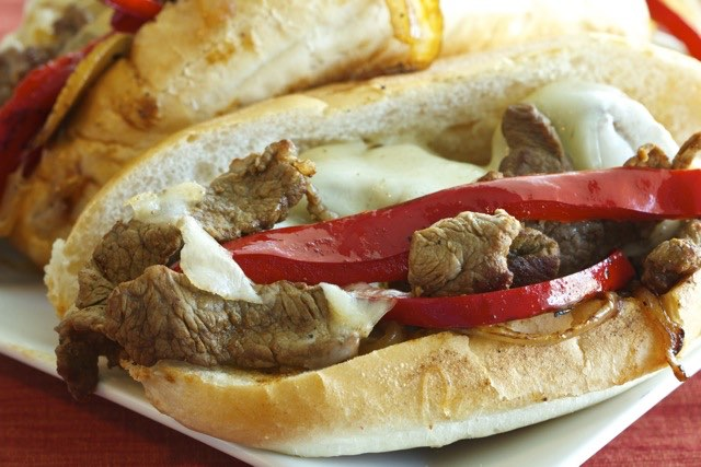 Philly Cheese Steak Recipe | Cooking-Outdoors.com | Gary House