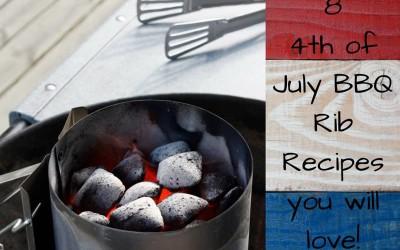 8 Amazing BBQ Rib Recipes for 4th of July
