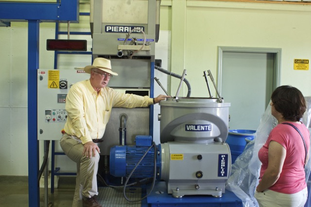 Il Fiorello Processing Equipment | Traveling4Food | Gary House