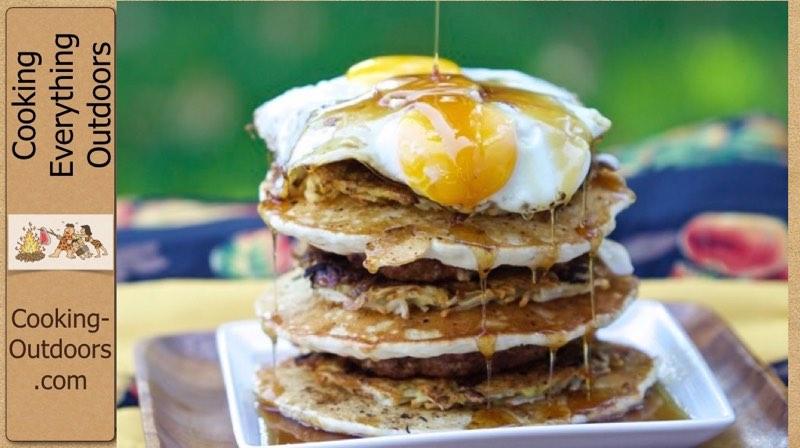 Island Grillstone Stacker Breakfast Recipe Video