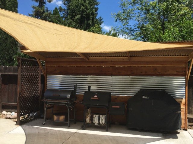 The New Cooking Outdoor Kitchen – Update Number 3