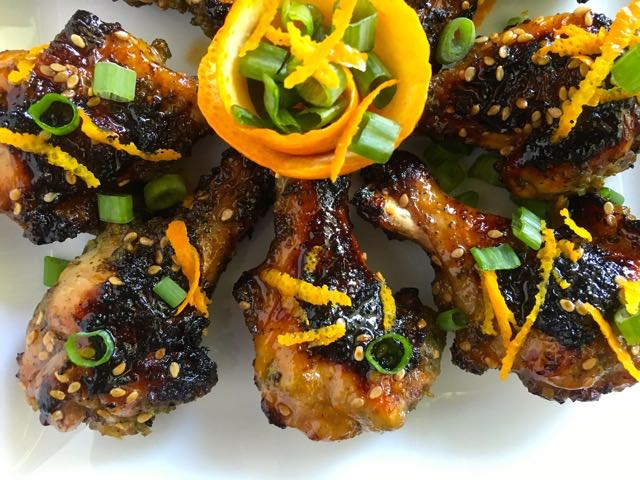 Orange Sriracha Chicken Drumettes | Island Grillstone Recipe