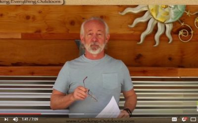 Cooking Outdoors Q & A with Gary – September 22,  2016
