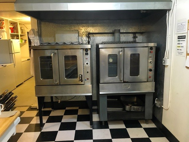 Double convection ovens | Cooking-Outdoors.com | Gary House