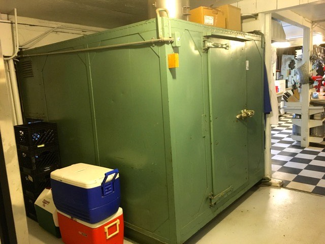 Walk-in cold storage | Cooking-Outdoors.com | Gary House