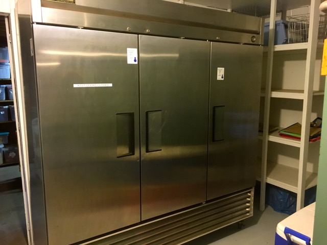 Triple wide stainless refrigerators | Cooking-Outdoors.com | Gary House