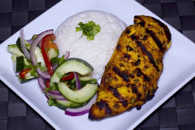 Grilled thai garlic chicken recipe forumfinder Choice Image