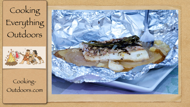 How to grill fish in aluminum foil packets for Grill fish in foil