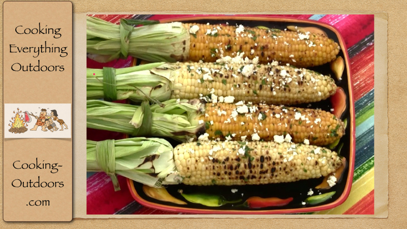McCormick Grilled Corn on the Cob with Mesquite Cilantro Butter