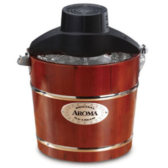 Aroma 4-Quart Traditional Ice Cream Maker – Review