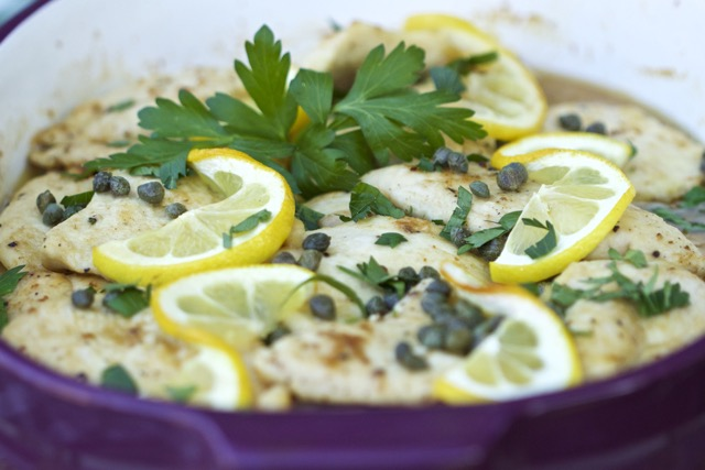 Easy Chicken Piccata Recipe for a Crowd