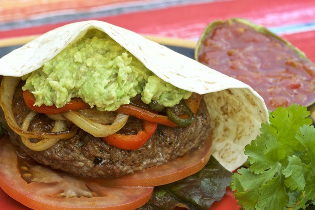 Easy Delicious Island Grillstone Fajita Burgers - Cooking Outdoors