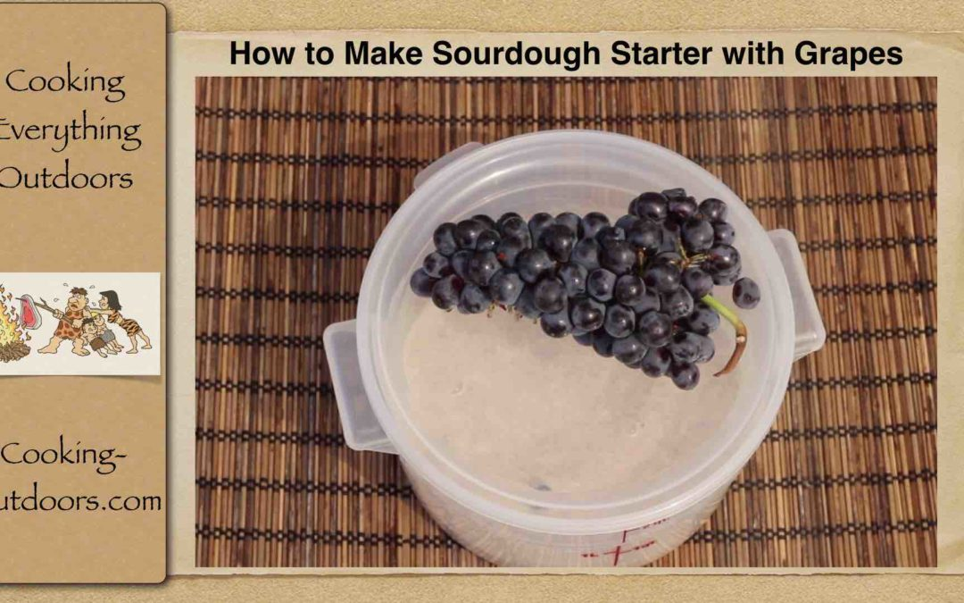 How to Make Quick and Easy Sourdough Starter with Grapes