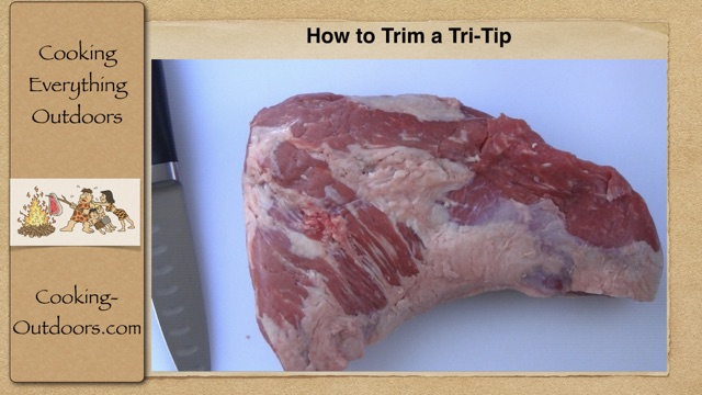 How to Trim a Tri-Tip Roast and Save Money