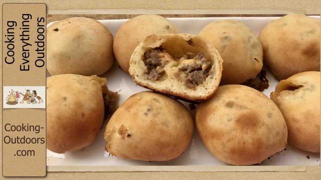 How to make Stuffed Sourdough Breakfast Rolls on the Grill