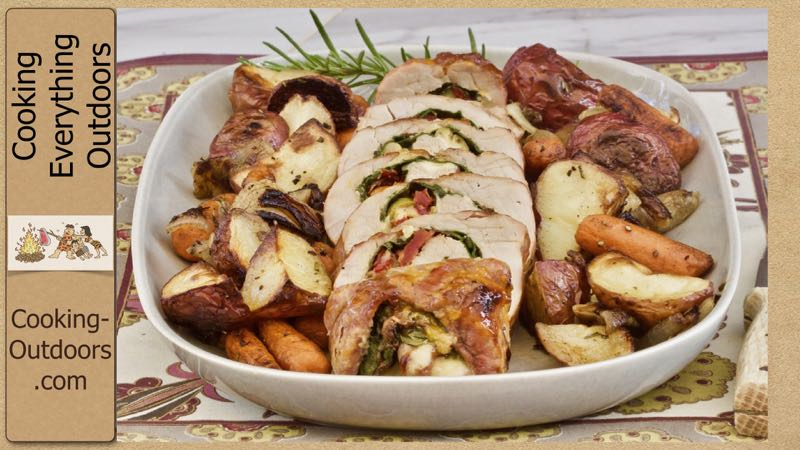 How To Make Grilled Stuffed Pork Tenderloin With Apricot Preserves Video