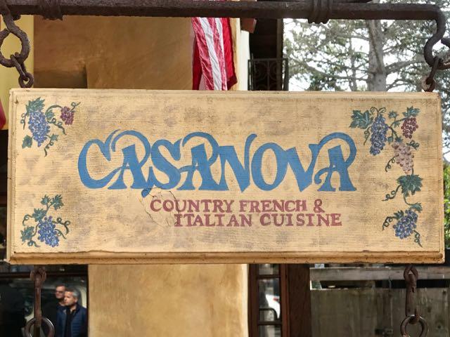 Casanova restaurant Carmel | NevertoOldtoTravel.com | Gary House