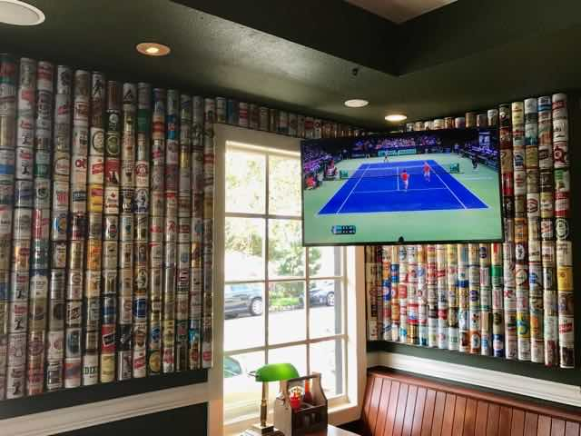 Huge beer can collection | NevertoOldtoTravel.com | Gary House